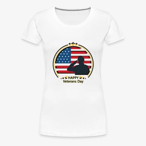 Happy Veterans Day - Women's Premium T-Shirt