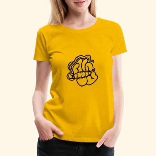 SMOKING HAND - HOODIE / SHIRT - Women's Premium T-Shirt