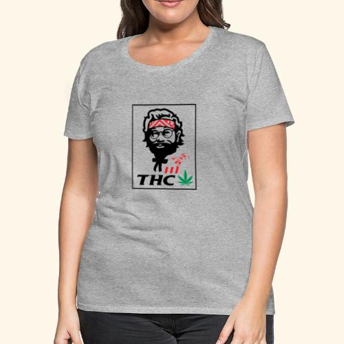 THC MEN - THC SHIRT - FUNNY - Women's Premium T-Shirt