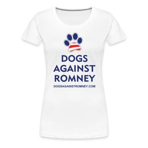 darusapawshirts blue300dpi - Women's Premium T-Shirt