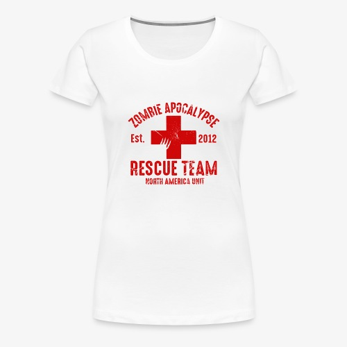 Zombie Help Team - Women's Premium T-Shirt