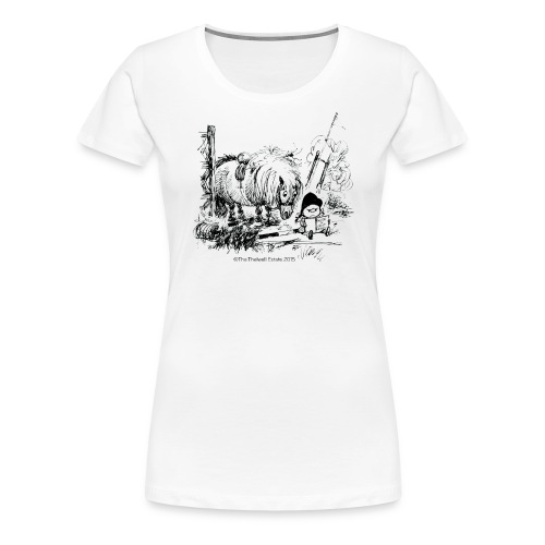 PonyFail Thelwell Cartoon - Women's Premium T-Shirt