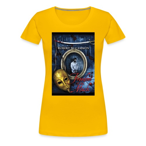 Freedom of the Mask - Women's Premium T-Shirt