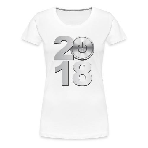 New Year 2018 - Women's Premium T-Shirt