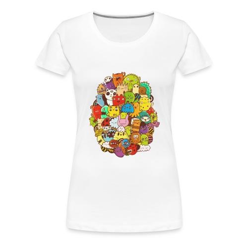 Doodle for a poodle - Women's Premium T-Shirt