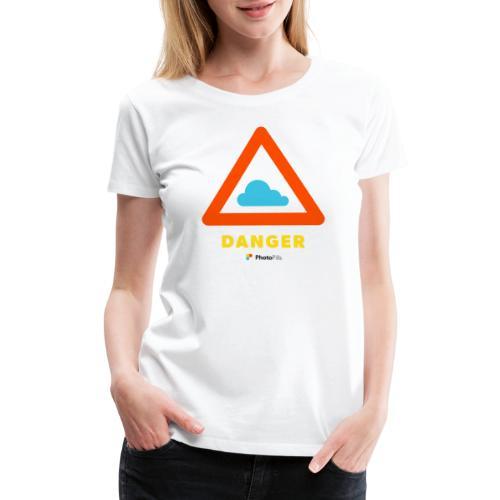 Danger Clouds! - Women's Premium T-Shirt