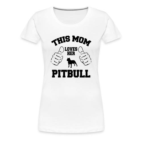Pitbull LOVERS - Women's Premium T-Shirt