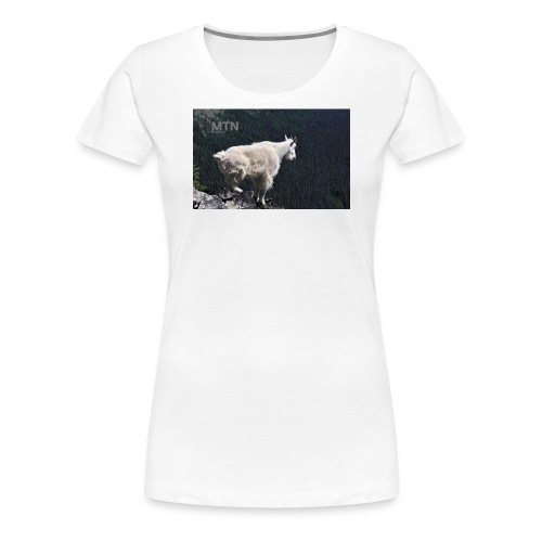 Goat design by MTNshirts - Women's Premium T-Shirt