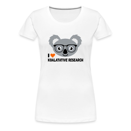 Koalatative Research - Women's Premium T-Shirt