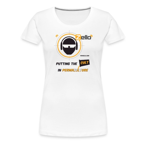 TSP Zello Permaculture Pun - Women's Premium T-Shirt