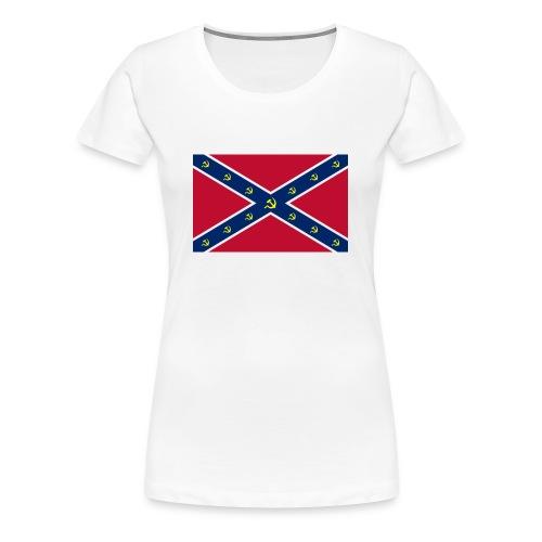 Confederate Communism - Women's Premium T-Shirt
