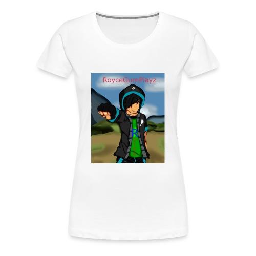 RoyceGumPlayz Official Logo! - Women's Premium T-Shirt