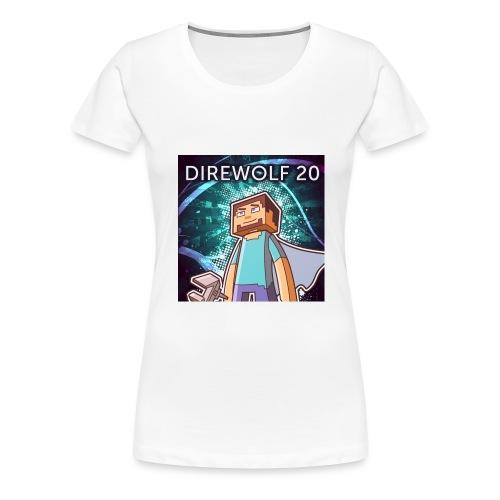 DireIcon Large4Print png - Women's Premium T-Shirt