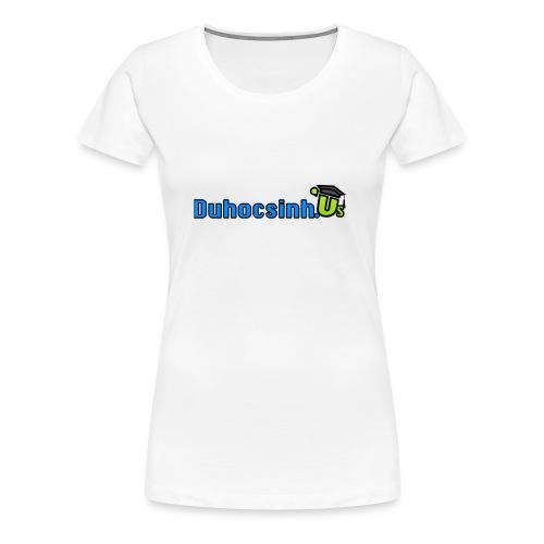 Cup Duhocsinh.us - Women's Premium T-Shirt