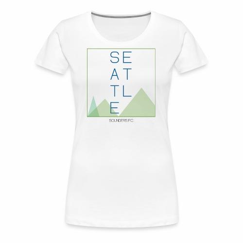Seattle - Women's Premium T-Shirt