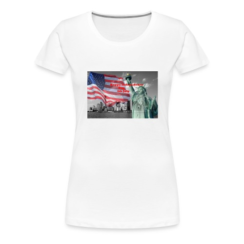 USA Independence Day - Women's Premium T-Shirt