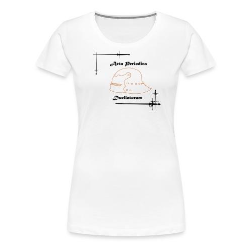 APD logo - Women's Premium T-Shirt
