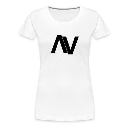 AviaryVision Logo (Black) - Women's Premium T-Shirt