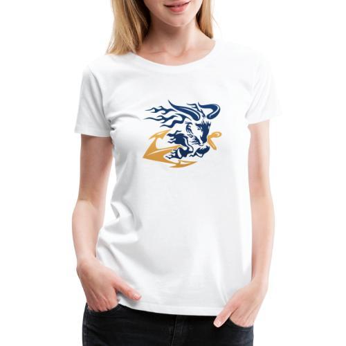 Goat with Anchor - Women's Premium T-Shirt