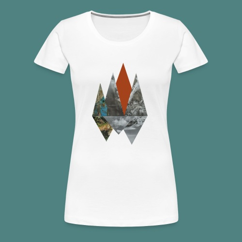 Peaks - Women's Premium T-Shirt