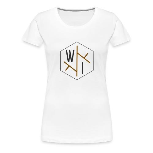 Woman's T-Shirt // Coloured Logo - Women's Premium T-Shirt