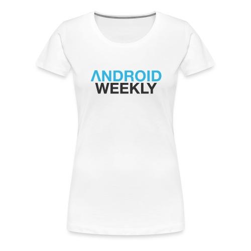 Android Weekly Logo - Women's Premium T-Shirt