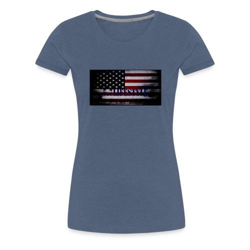AMERICAN FLAG - Women's Premium T-Shirt