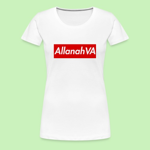 AllanahVA Supreme Red - Women's Premium T-Shirt
