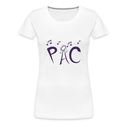 PAC Logo Purple - Women's Premium T-Shirt