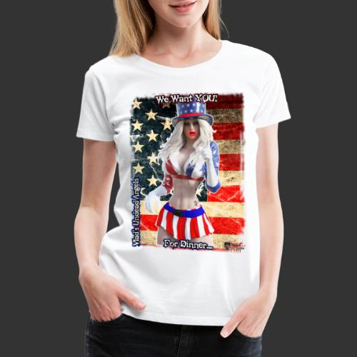 Samantha - Want You - Women's Premium T-Shirt