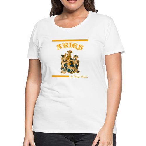 ARIES ORANGE - Women's Premium T-Shirt