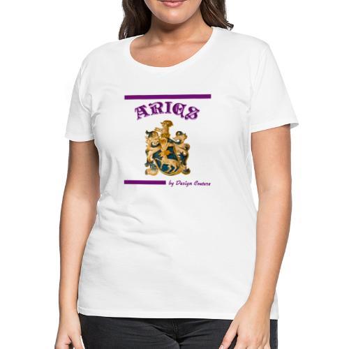 ARIES PURPLE - Women's Premium T-Shirt