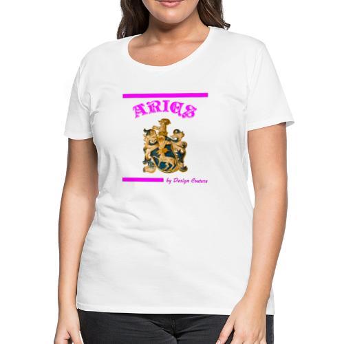 ARIES PINK - Women's Premium T-Shirt