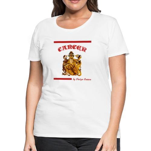 CANCER RED - Women's Premium T-Shirt
