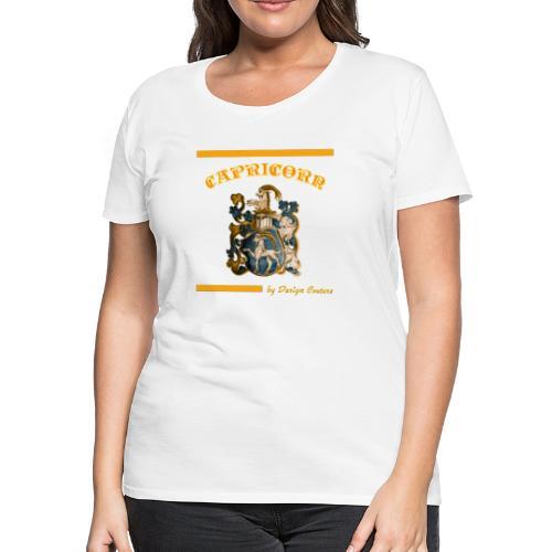 CAPRICORN ORANGE - Women's Premium T-Shirt