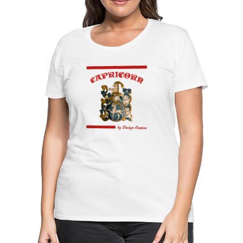 CAPRICORN RED - Women's Premium T-Shirt