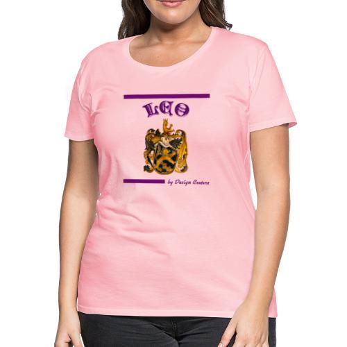 LEO PURPLE - Women's Premium T-Shirt