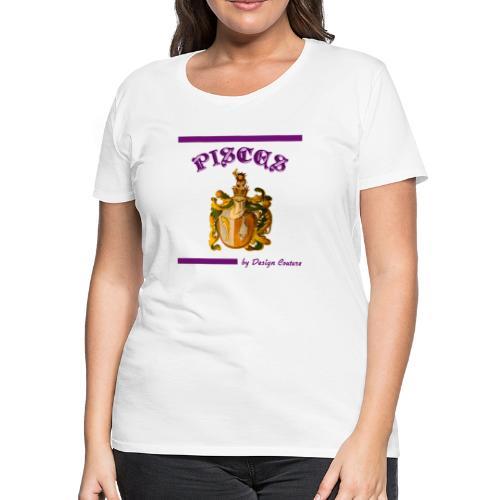 PISCES PURPLE - Women's Premium T-Shirt
