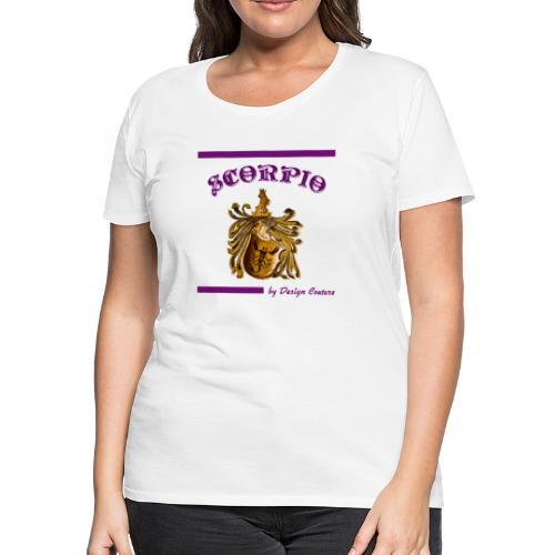 SCORPIO PURPLE - Women's Premium T-Shirt