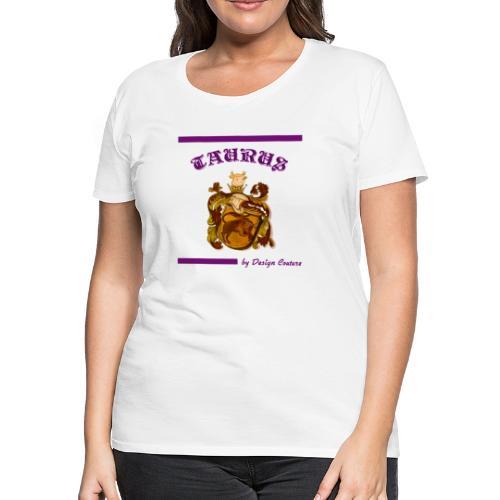 TAURUS PURPLE - Women's Premium T-Shirt
