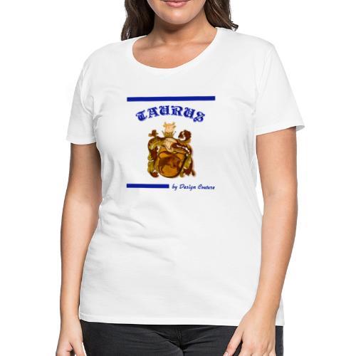 TAURUS BLUE - Women's Premium T-Shirt