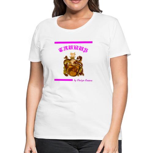 TAURUS PINK - Women's Premium T-Shirt