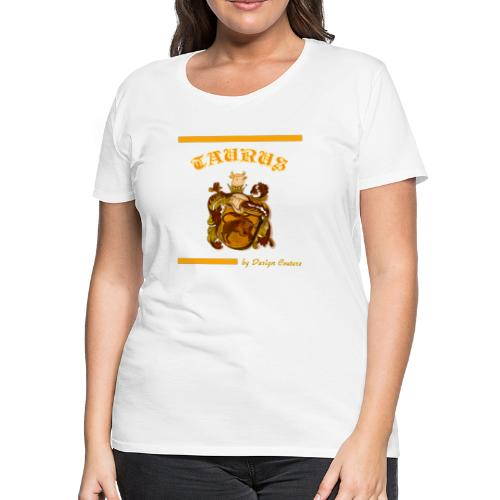 TAURUS ORANGE - Women's Premium T-Shirt