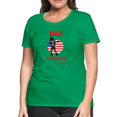 DAB AMERICA RED - Women's Premium T-Shirt