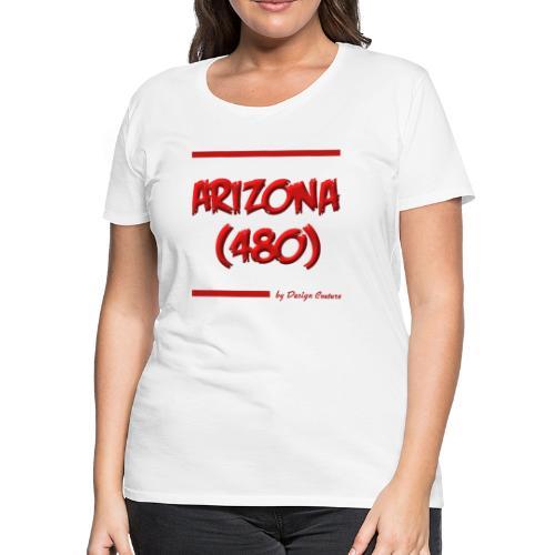 ARIZON 480 RED - Women's Premium T-Shirt