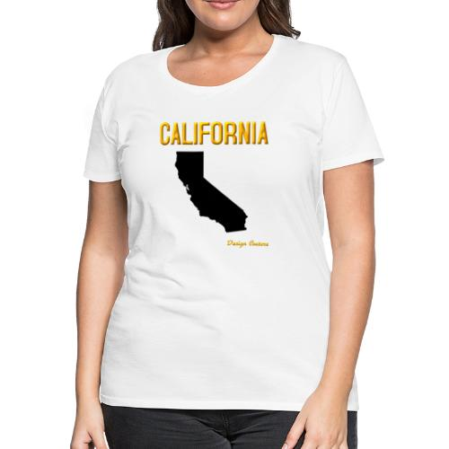 CALIFORNIA ORANGE - Women's Premium T-Shirt