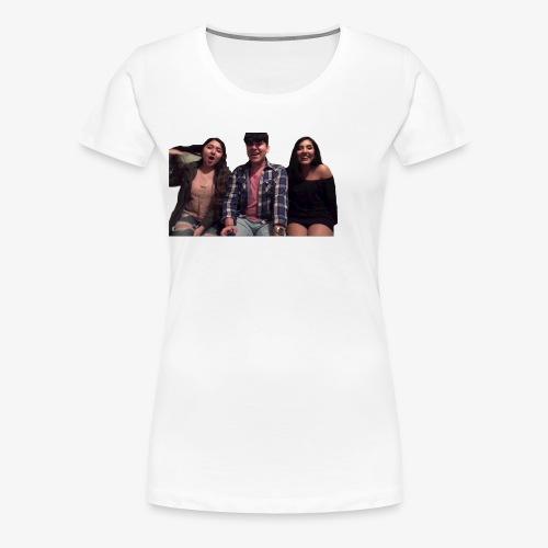 Fido, Cindy, and Tania - Women's Premium T-Shirt