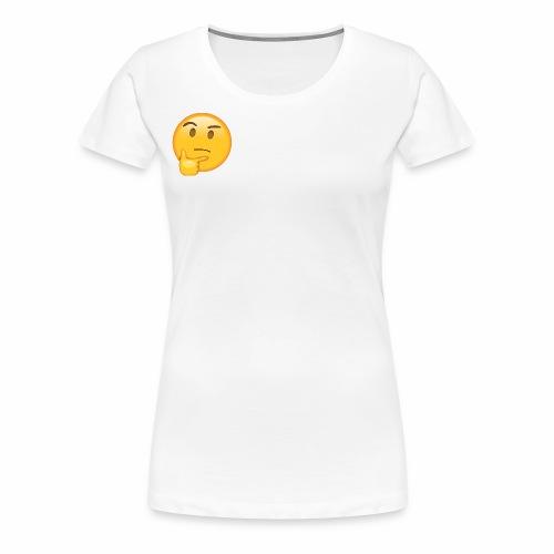 Thinking Face - Women's Premium T-Shirt