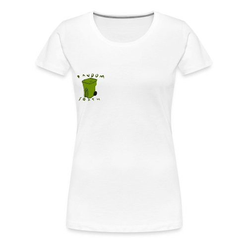 Green traash - Women's Premium T-Shirt