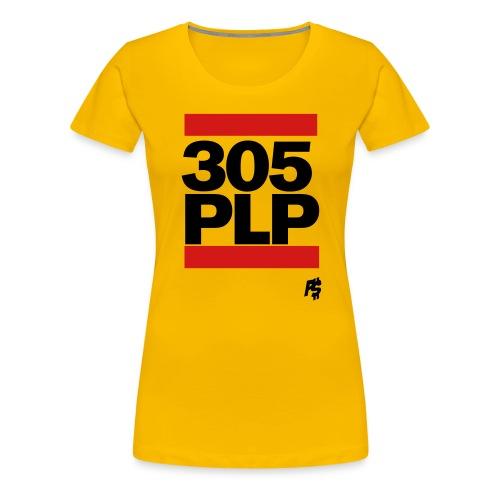 Black 305plp - Women's Premium T-Shirt